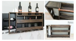 How to Build a Pallet Wine Rack