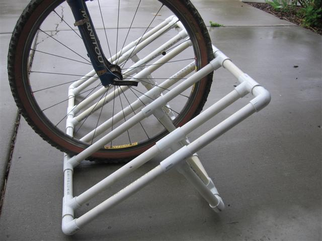 10 Interesting DIY Bike Storage Ideas bike rack indoor display stand hook cool pvc