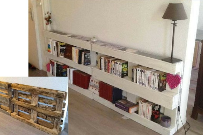 10 Original and Inexpensive Bookcases