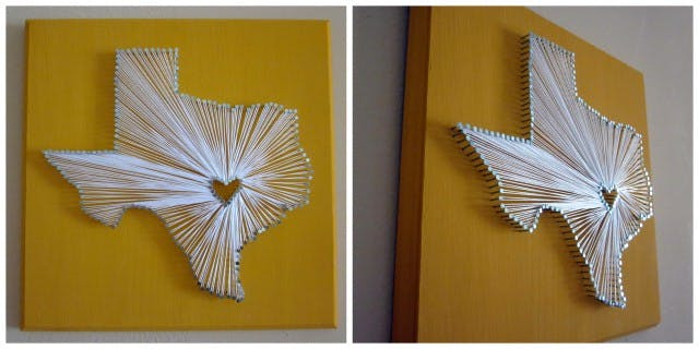 Mothers Day Gift Ideas String Art Homemade Gifts
