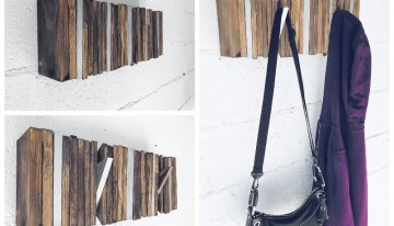 How to Make a Coat Hanger from Pallets