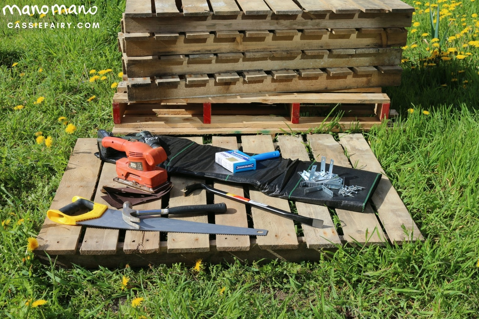the handy mano manomano diy pallet project tools