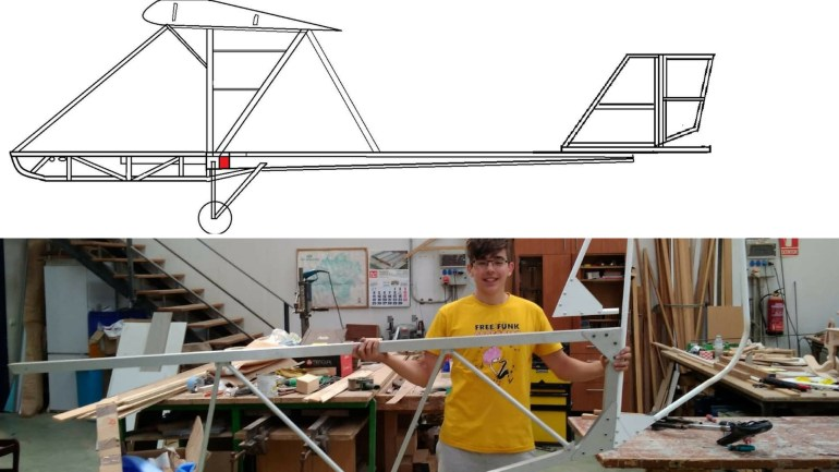The Amazing Making Of Competition Winner Spain Airplane