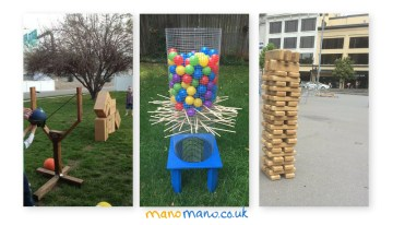 Giant Garden Games DIY Tutorials
