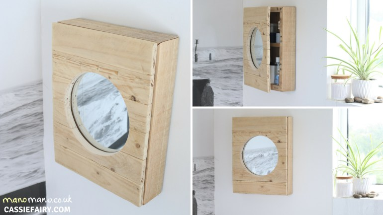 Pallet Cabinet DIY Tutorial thehandymano mano mano finished