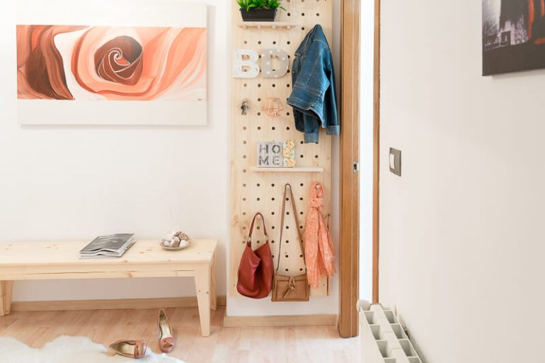 tablero organizador de pared DIY