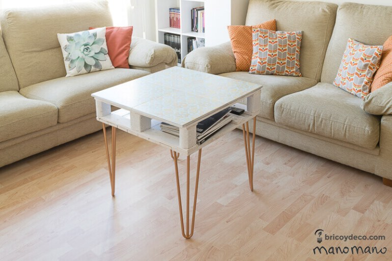 thehandymano mano mano pallet coffee table complete