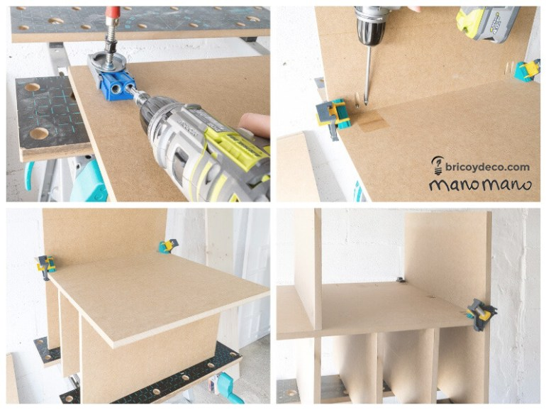 thehandymano mano mano DIY Shoe Storage for your wardrobe assemble