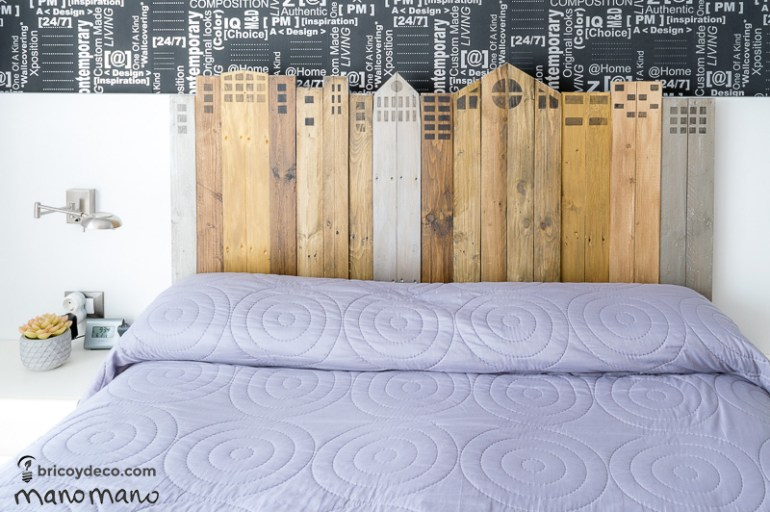 manomano mano the handy mano headboard tutorial pallet bed finished