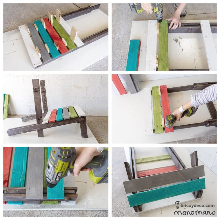 mano mano thehandymano mano uk diy DIY Pallet Chair tutorial final assembly