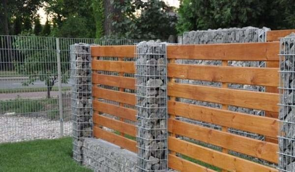 quelques id es tendance pour utiliser le gabion. Black Bedroom Furniture Sets. Home Design Ideas