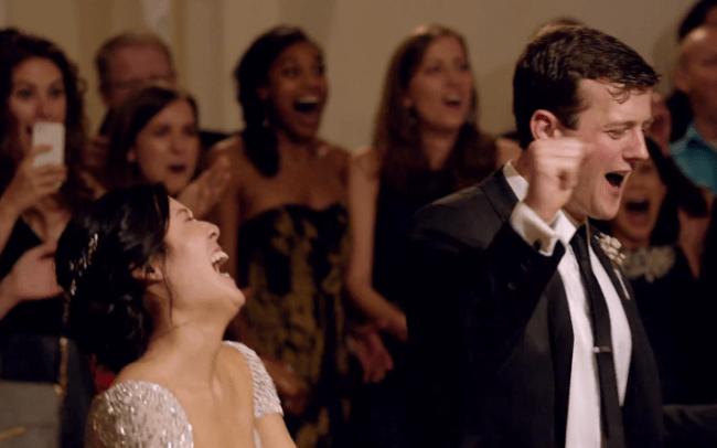 Maroon5 surprise wedding song - surprise sixth bride