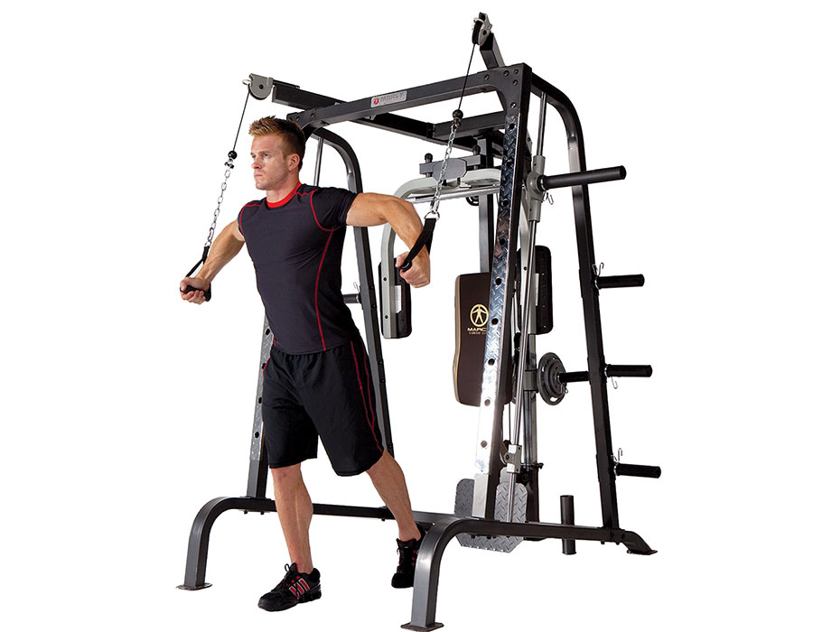 Strength training benefits home gym cable exercises MD-9010G Flys