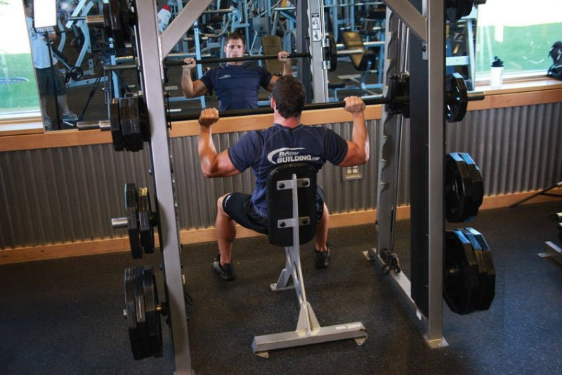 6 ways to get a good smith cage machine workout overhead presses