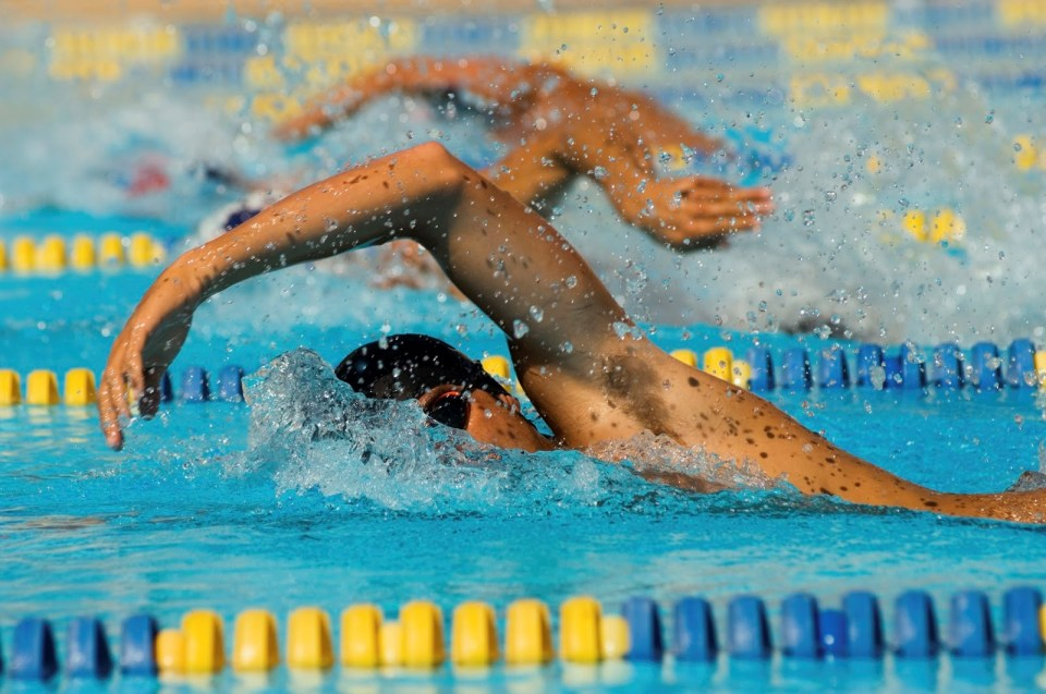exercises that will help competitive swimmers