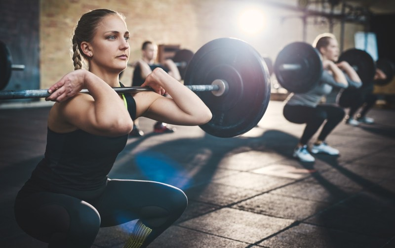 leg-routines-for-a-stronger-lower-body-front-squats