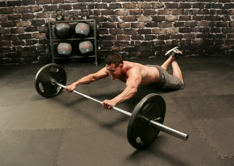 barbell rollout