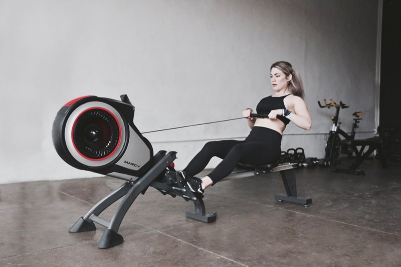 Model using the Marcy Turbine Air Rower NS-6050RE