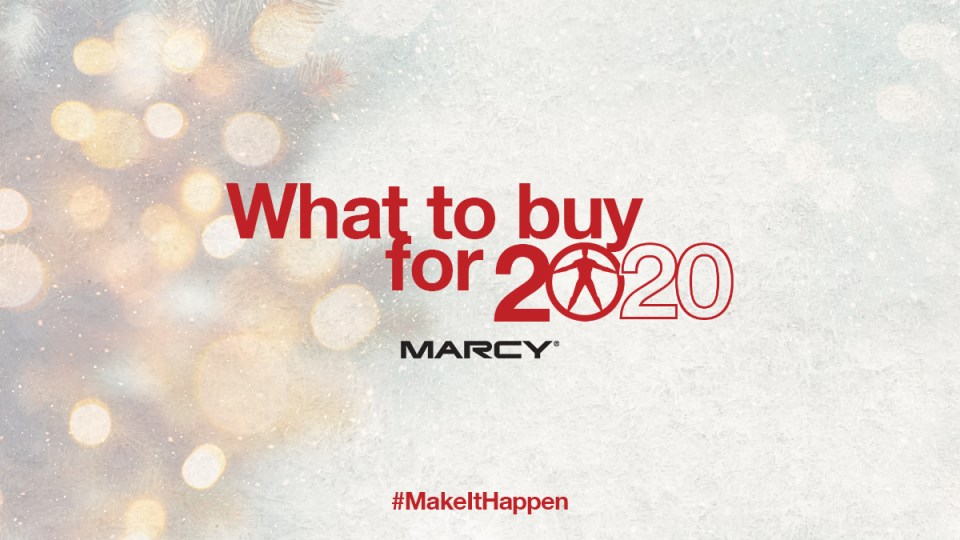 What to buy for 2020 - Marcypro.com - Marcy - Makeithappen