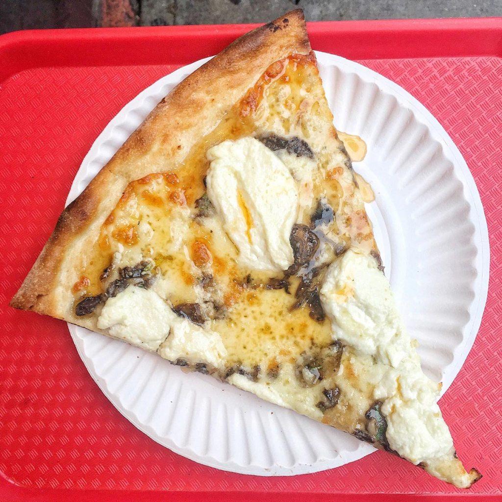 NY Pizza Suprema's 'Hot Honey' slice of pizza