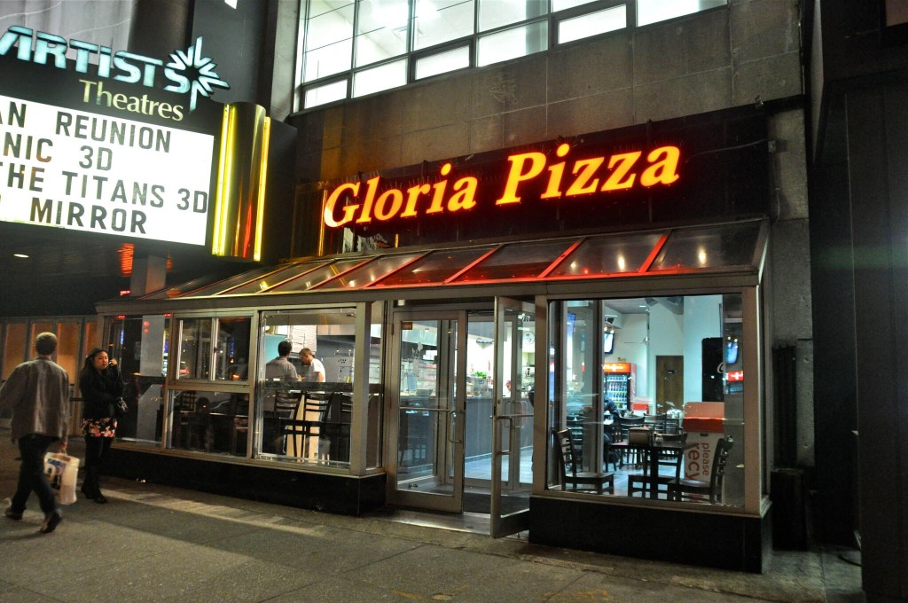 Gloria Pizza Exterior