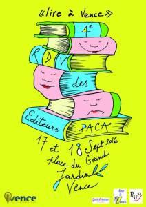 Affiche de Lire à Vence 2016