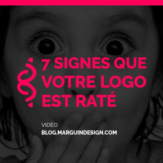 7 signes que votre logo est rate