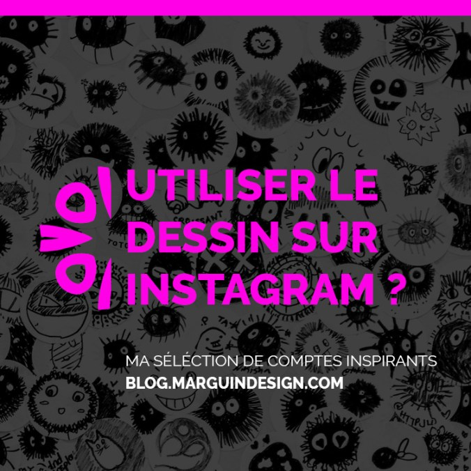 Idees de post Instagram qui utilisent le dessin