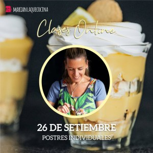 clases online postres individuales