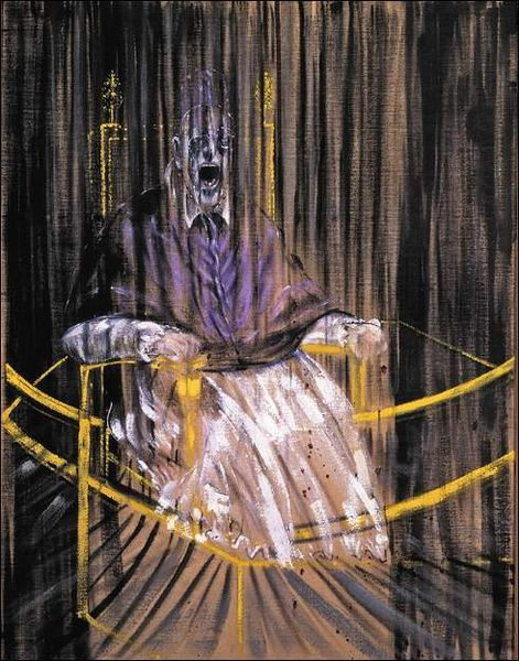 Francis Bacon - Study after Velazquezs Portrait of Pope Innocent X