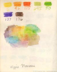 """Palette for """"Hippie Nouveau"""""""