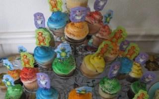 cupcakes colorati feste compleanno bambini