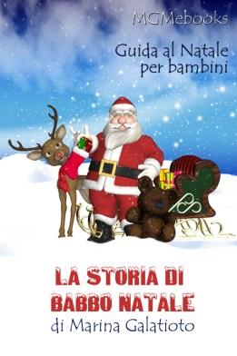 La storia di Babbo Natale guida per bambini coprid