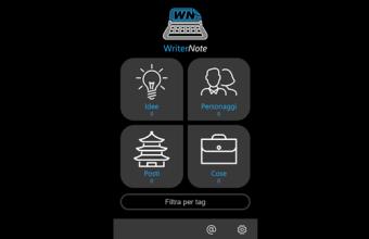 App gratis per scrittori, e non solo: WriterNote