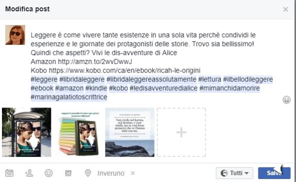 Cambiare foto post Facebook sulle pagine è possibile se