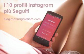 I 10 profili Instagram con il maggior numero di follower