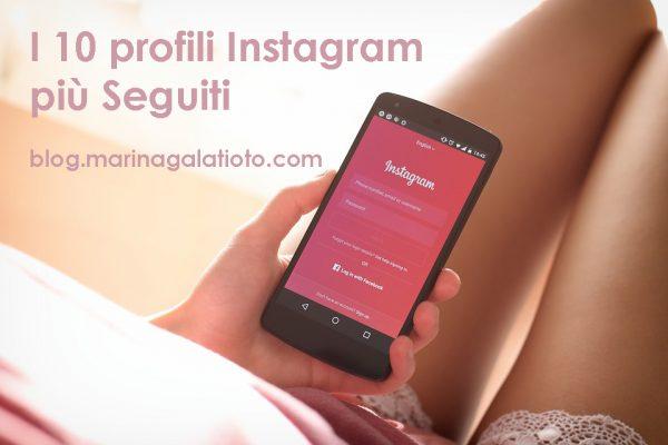instagram profili piu seguiti