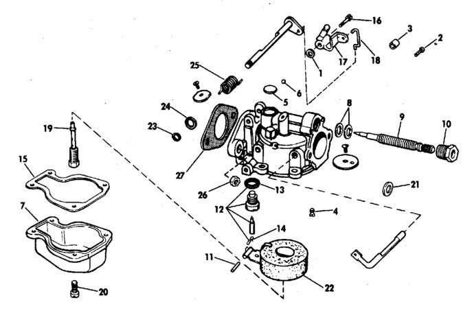 johnson outboard motor carburetor problems