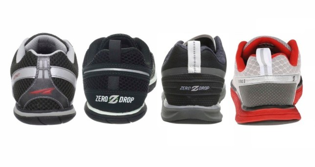 Comparing the heels of the Original Instinct, 1.5, 2.0 and Altra Instinct 3.0