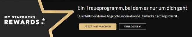 """Kundenzufriedenheit durch exzellentes Marketing - """"Starbucks Rewards""""-Treueprogramm"""