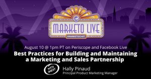 August 10 #marketochat with Hally Pinaud