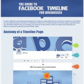 The Guide to Facebook Timelines Infographic