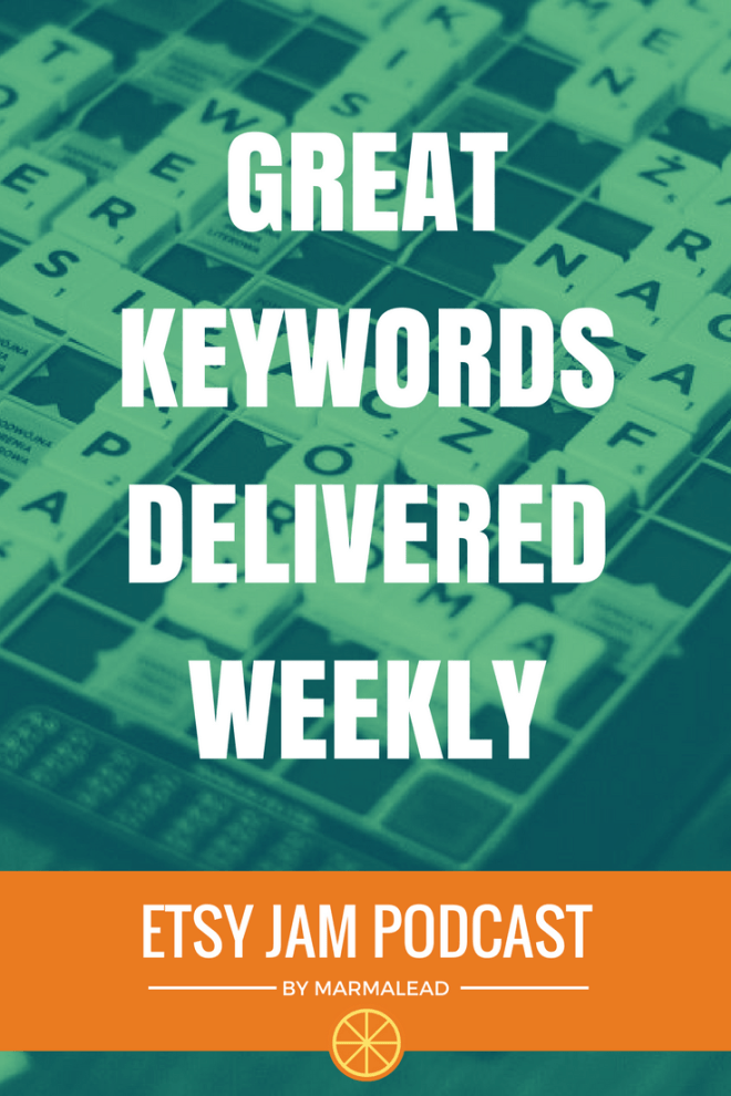 In this episode, we have a handful of different ways that sellers are using Marmalead's High Engagement Keyword emails to improve their listings and their shops' success on Etsy. If you're a Marmalead entrepreneur, or you've been thinking about becoming one, and you're looking for some fresh ways to use your weekly list of the highest engagement keywords, read on!