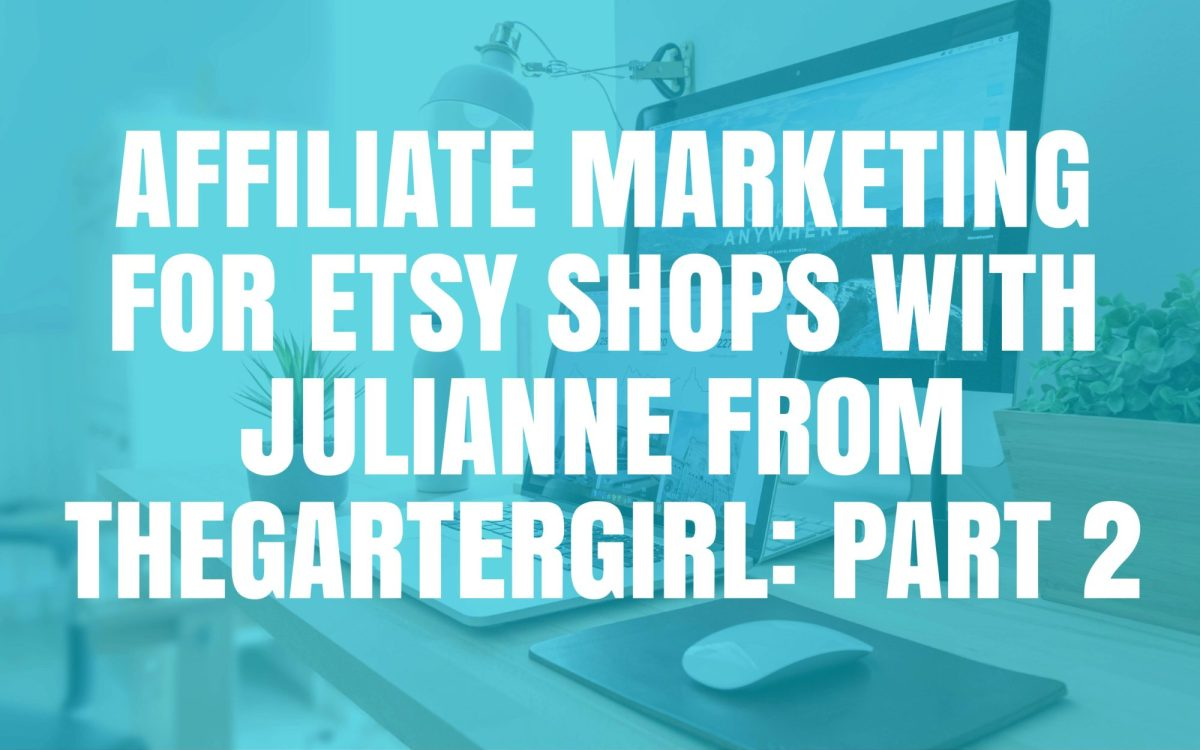 Etsy Affiliate Marketing Etsy Jam