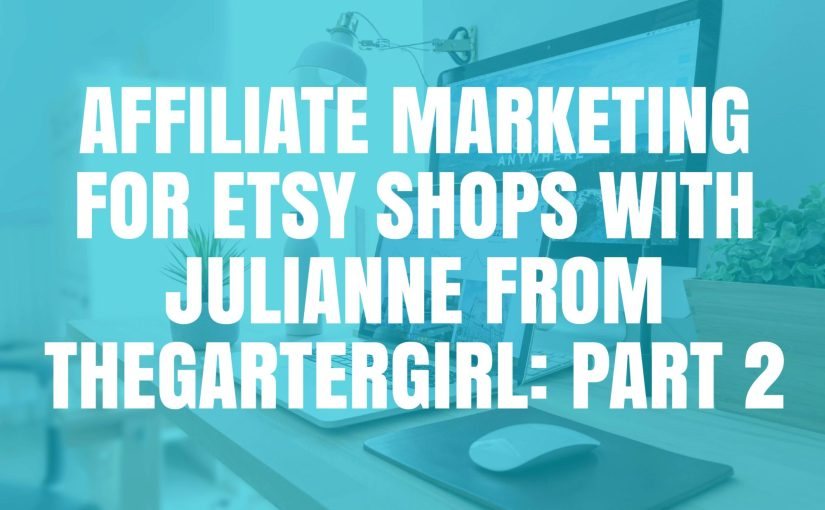 Etsy Affiliate Marketing Etsy Jam