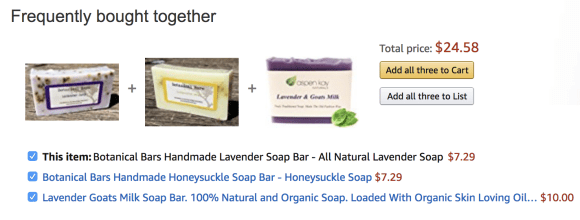 Handmade lavender soap Marmalead