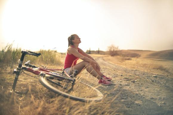 Hobby outside of Etsy - mountain biking