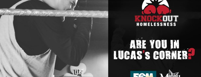Lucas Marsh, Erie City Mission, Knockout Homelessness Round 11