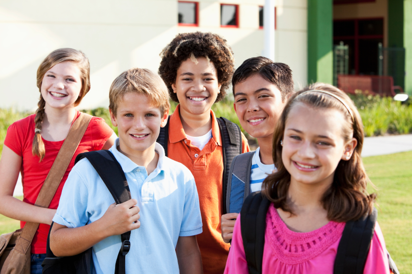 children attending good schools after moving to erie