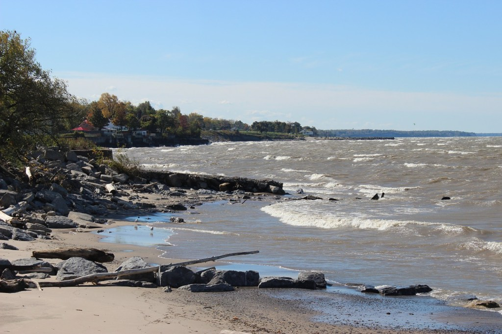 exploring presque isle state park after moving to erie